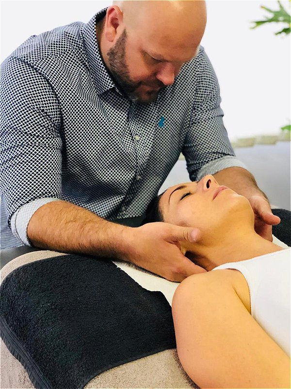 "Bowen Therapy is directed at the body as a whole, reducing physical pain and emotional unease. It stimulates the body to self-heal while alleviating symptoms of anxiety and depression. This is achieved by a ""shift"" in the nervous system from sympathetic to parasympathetic. This image was taken in Johannesburg, South Africa."